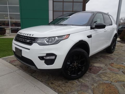 Certified Pre-Owned 2017 Land Rover Discovery Sport HSE